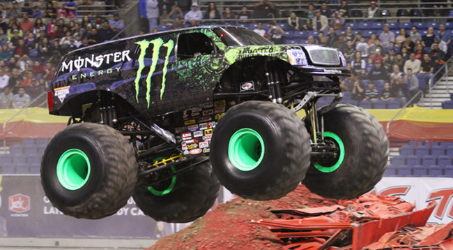 Monster Jam Red Maya